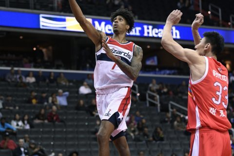 Wizards' Devin Robinson arrested after fight with Philadelphia Eagle