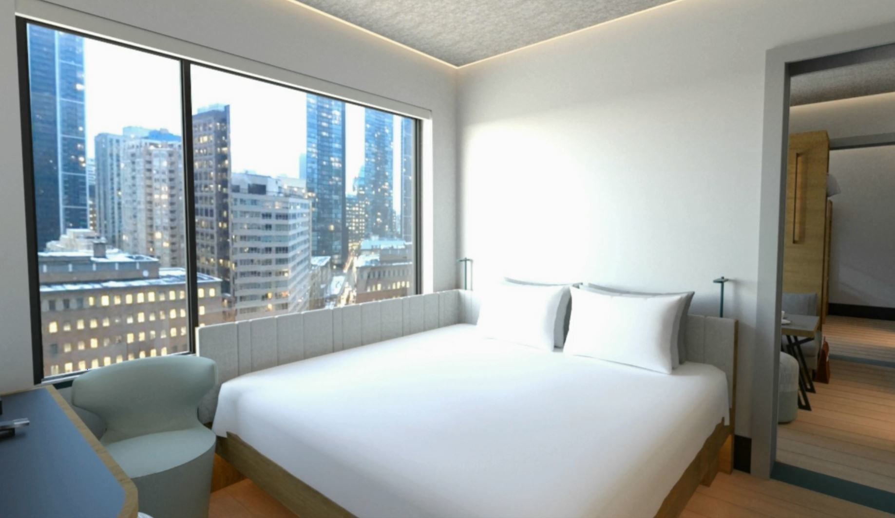Hilton says Motto is a micro-hotel with an urban vibe in prime global locations. (Courtesy Hilton)