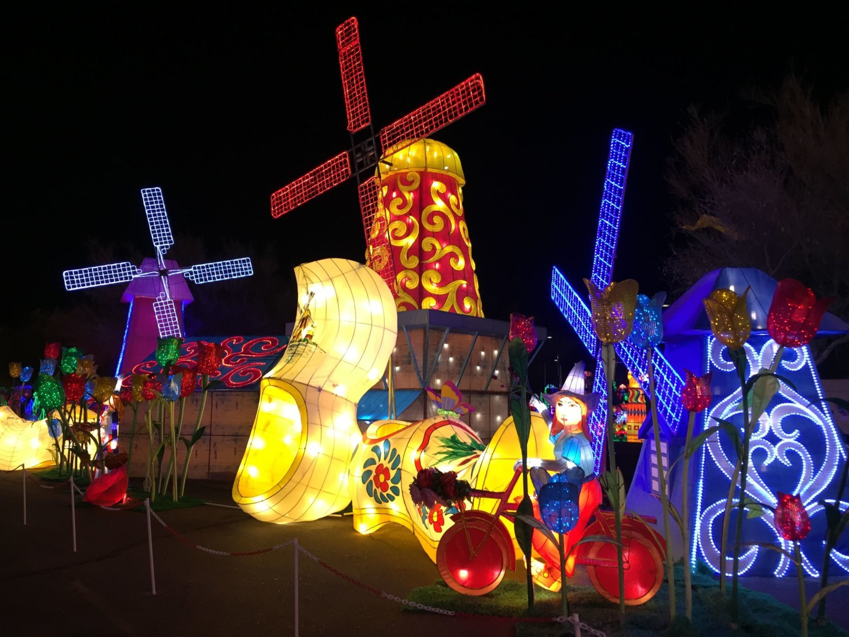 Admission is about $30 for adults and about @20 for kids. There are also family packages and admission is free on Tuesdays for members of the military, police and firefighters. (Courtesy LightUP Fest)