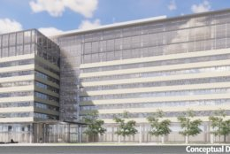 Another sketch of Metro's new SW headquarters in the location formerly known as the Reporter's Building. (Courtesy WMATA)