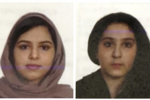 Police: Saudi sisters in NYC since Sept. 1 after other stops
