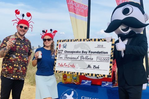 Natty Boh 'Tabs for Crabs' nets $10K for Chesapeake Bay Foundation