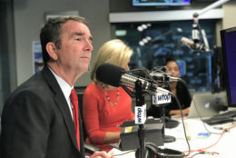 Virginia Gov. Ralph Northam on WTOP Wednesday, Oct. 31, 2018. (WTOP/Ginger Whitaker)