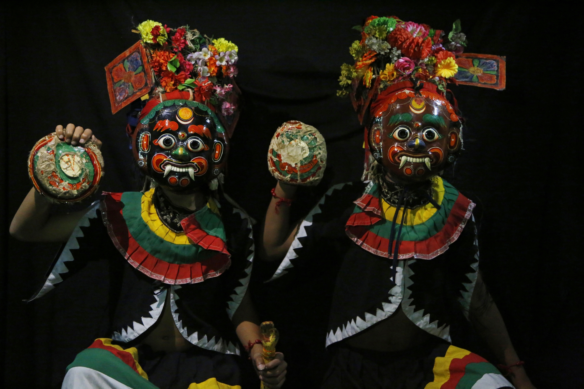 AP PHOTOS: Nepal's masked dancers mark the end of monsoon | WTOP