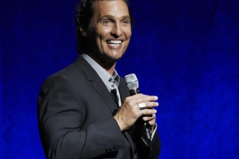 McConaughey gives back to first responders in Texas visit