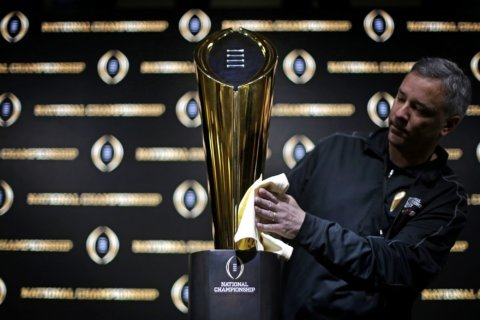 Alabama, Clemson, LSU, Notre Dame top 1st CFP rankings