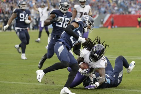 Friendly bet between Maryland, Tennessee governors over Ravens-Titans playoff