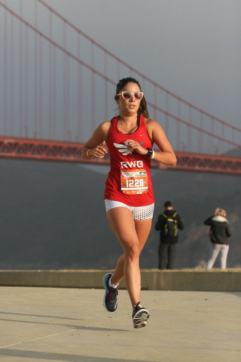 The Marine Corps is as much a part of Ruiz's family as her siblings. So even though she's run three cmarathons, the Marine Corps Marathon will meana  bit more. (Courtesy Selina Ruiz)