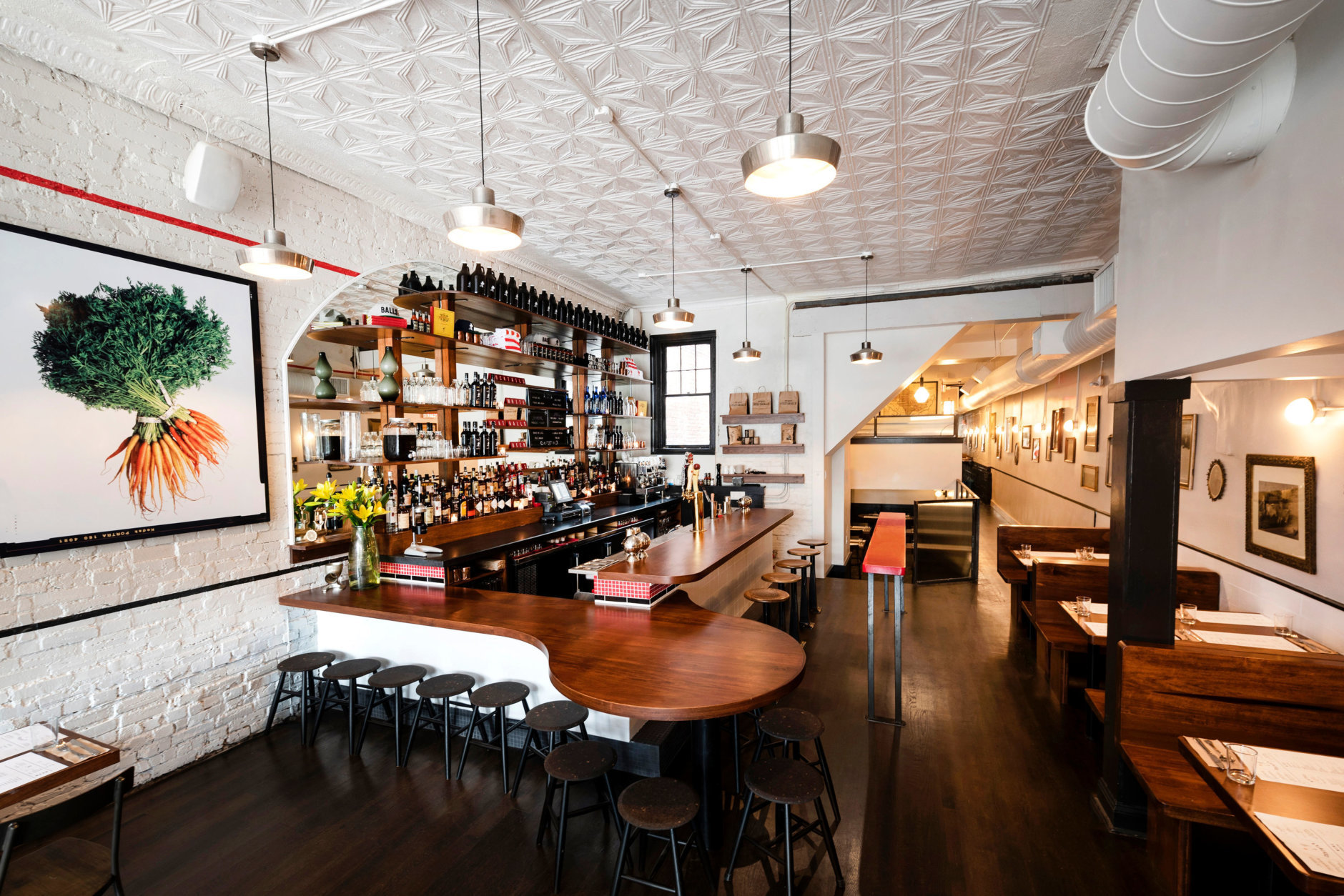 The Meatball Shop took the space formerly occupied by Cork Wine Bar, which consolidated the wine bar with its 14th Street Cork Market last year. (Courtesy Liz Clayman)