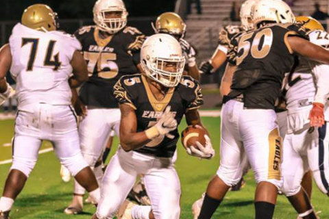 Career night lands Freedom-Woodbridge RB TyQuan Brown Player of the Week honors