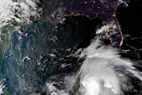 Michael expected to gain hurricane strength nearing Florida
