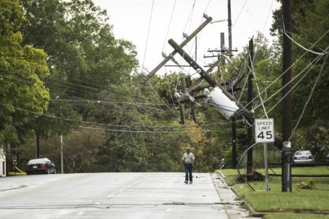 Thousands still without power in Va. after Michael