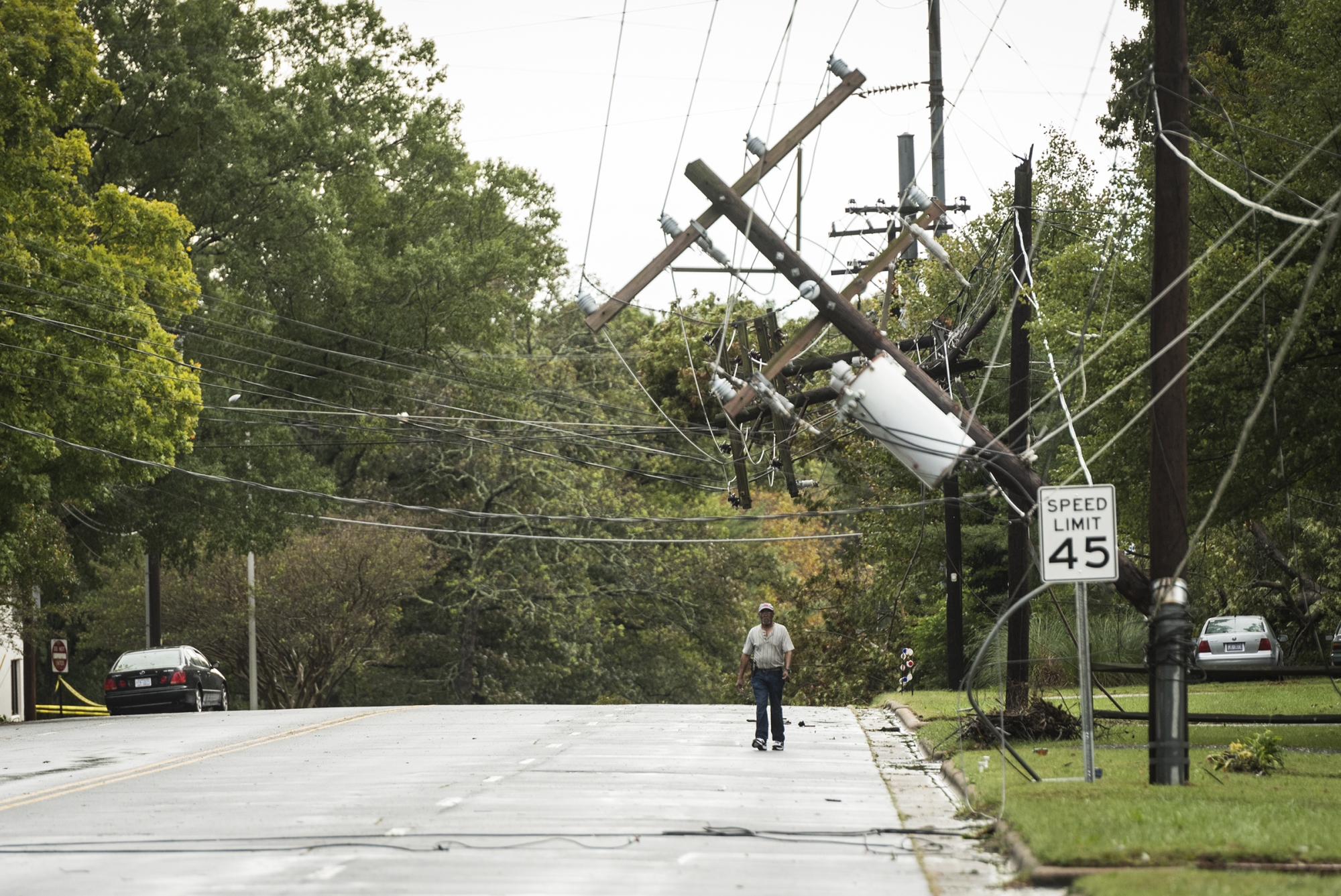 Thousands Still Without Power In Va After Michael Wtop