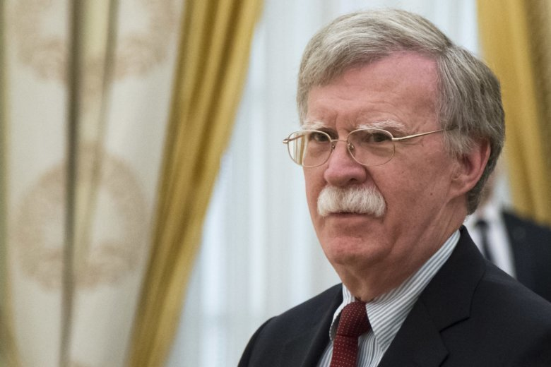 Bolton faces tense talks with Russian Federation  over nuclear treaty