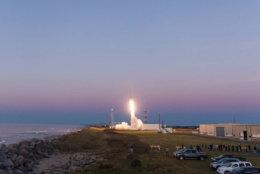 The Mid-Atlantic Regoinal Spaceport, at NASA's Wallops Flight Facility on Virignia's Eastern Shore. (Courtesy NASA)