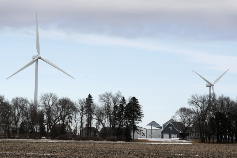 Wind power can add to climate change