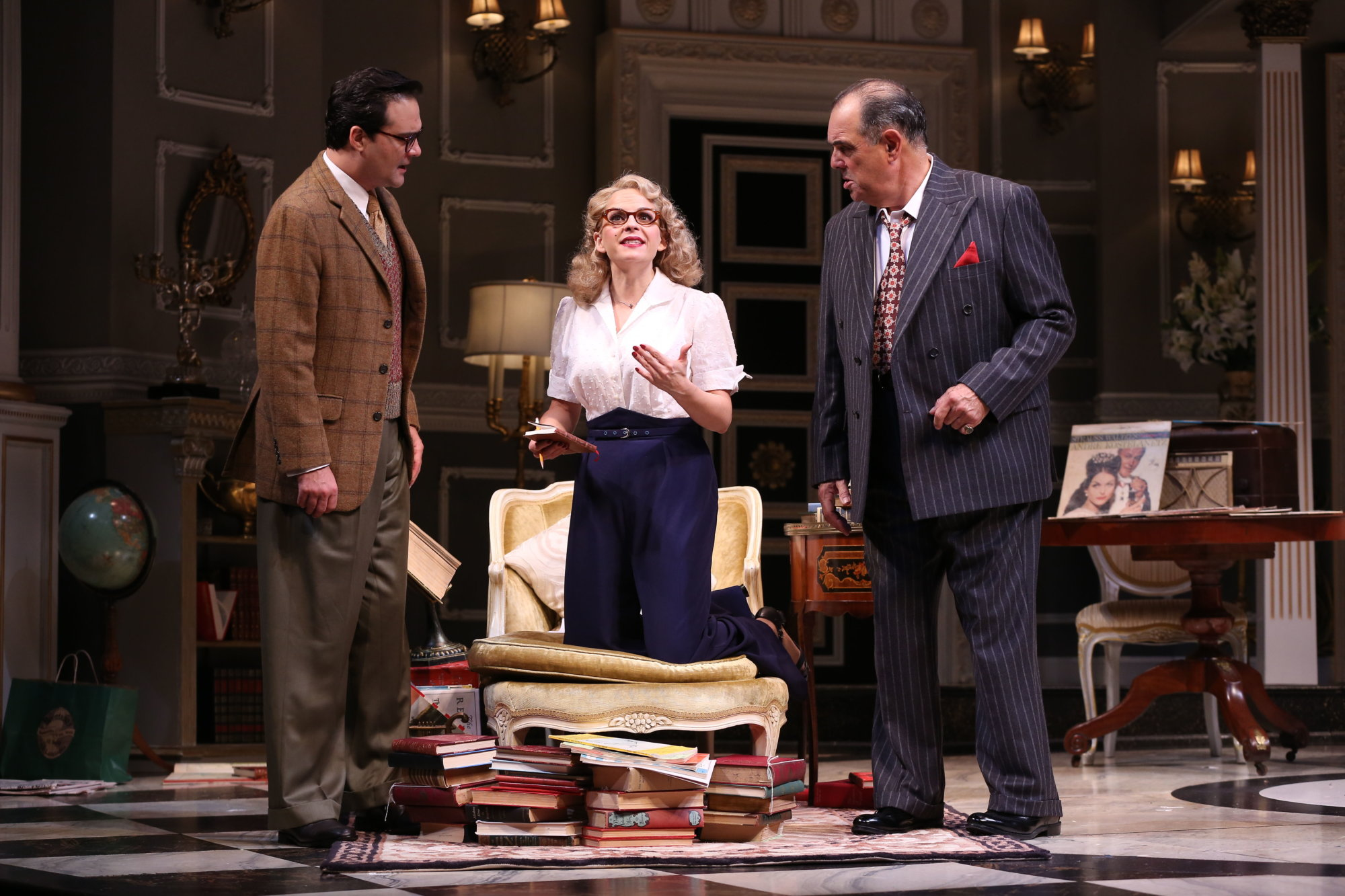 Q&A: 'Born Yesterday' brings screwball political comedy to Ford's Theatre