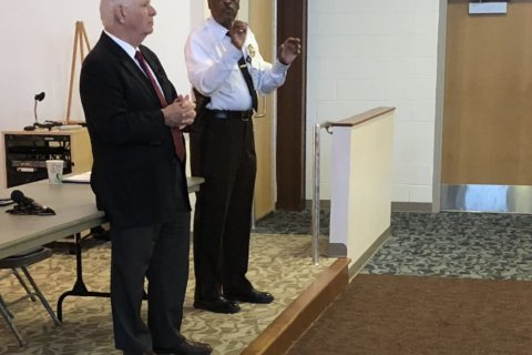 Md. Senator Cardin says temple shootings are personal, seeks police funding