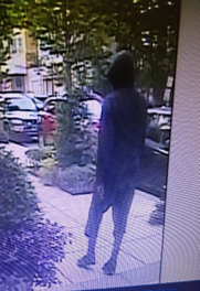 Police have released updated photos of the suspect in the Oct. 4 incident on 14th Street Northwest. (Courtesy DC police)