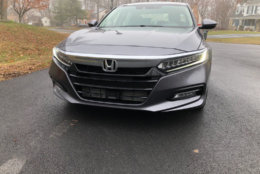 The Accord Touring has plenty of curb appeal. The look is modern without being strange. (WTOP/Mike Parris)