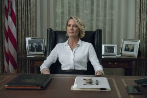 So long, Spacey: 'House of Cards' returns with new President Underwood