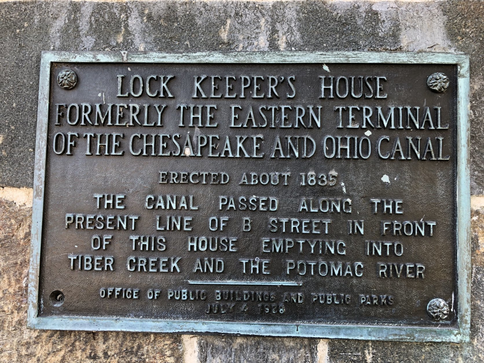 Built in 1837, the Lockkeeper's House is the oldest structure on the National Mall. (WTOP/Kristi King)