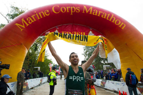 Here's what you need to know about the 44th Marine Corps Marathon