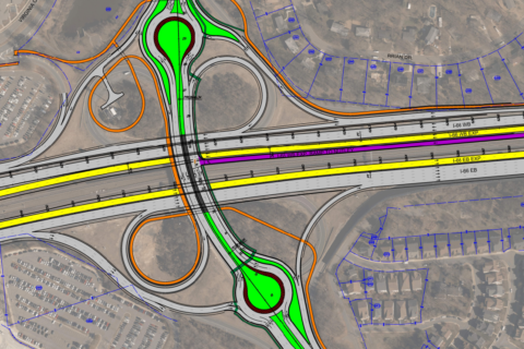 I-66 toll lane designs still changing, new Nutley St. interchange proposed