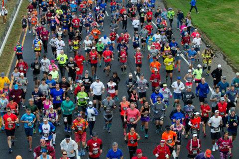 Photos: Thousands of runners embark on Marine Corps Marathon