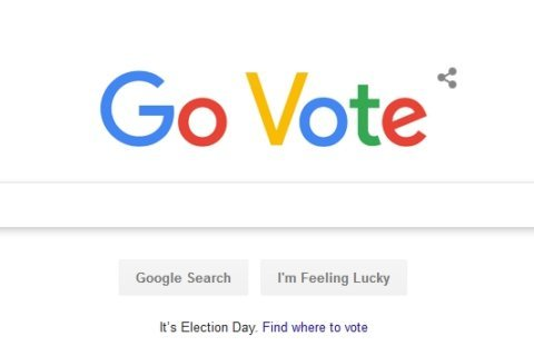 'Donde votar,' Spanish for 'Where to vote,' was Google's top search on election day