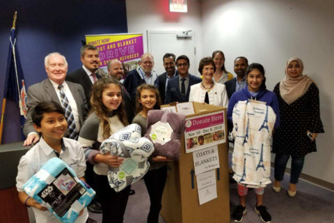 Northern Va. coat, blanket drive aims to provide warmth to Syrian refugees