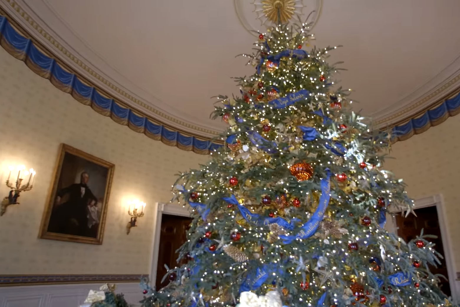 PHOTOS: First lady unveils White House 2018 Christmas ... on christmas lily plant, christmas pepper plant, snowman plant, christmas box plant, mistletoe plant, christmas pine plant, christmas rose plant, christmas chinese lantern plant, christmas candle plant, cinderella rose plant, christmas kalanchoe plant, name of christmas plant, christmas bulb plant, goldfish plant, polar arctic tundra plant, christmas hope plant, christmas berry plant, christmas tree, christmas heliconia plant, christmas hydrangea plant,