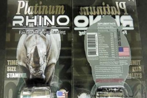 FDA warns consumers of health issues after taking male enhancement supplement Rhino