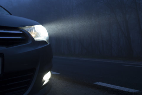 Headlights on most base-model 2018 vehicles get dim ratings in safety study
