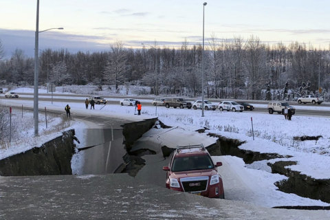 WATCH: Videos show people taking cover as Alaska quake struck