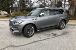 Infiniti changed the front end by adding larger headlight clusters that seem to better suited to this large vehicle.