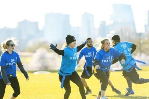 'Santa Bowl' flag football games to touch down in Long Bridge Park