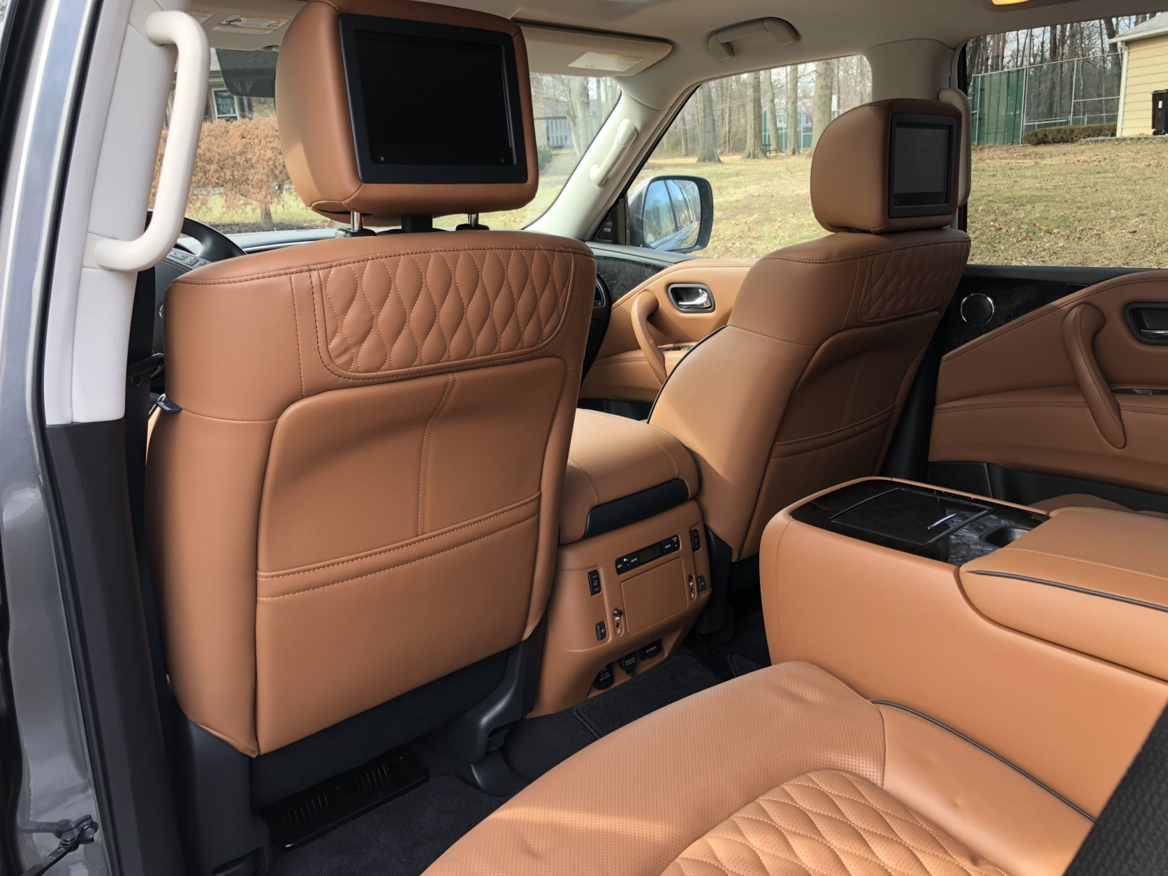 Spend $5,700 for the Deluxe Technology Package for the semi-aniline leather seats with heat and ventilation. (WTOP/Mike Parris)