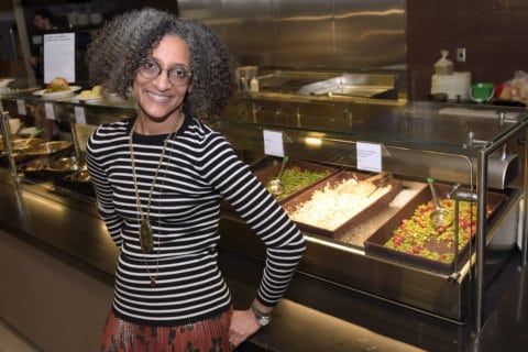 Hometown hero Carla Hall reclaims, celebrates soul food in new book