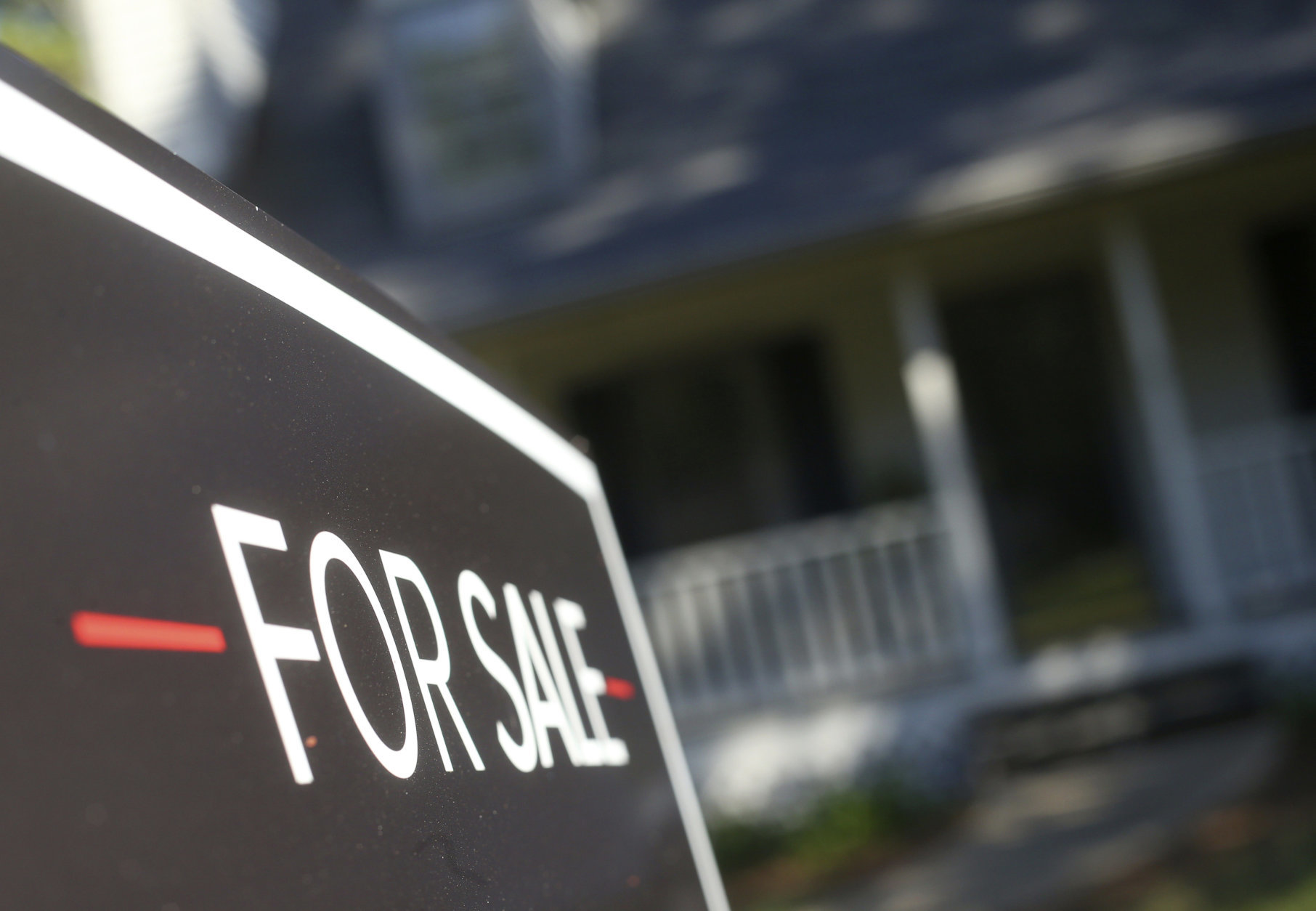 This Wednesday, Oct. 3, 2018, photo shows a home offered for sale in the Atlanta suburb of Roswell, Ga. Atlanta has the most affordable housing among metros where population is booming, and Seattle's housing is least affordable. (AP Photo/John Bazemore)