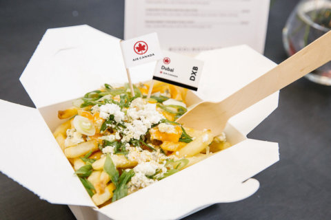 Air Canada pop-up 'Poutinerie' serves fries and cheese curds to benefit Martha's Table