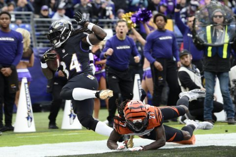 Man's arrest with Ravens player mirrors earlier Alabama case