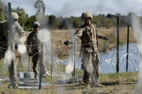 Senators question why troops are on border for Thanksgiving