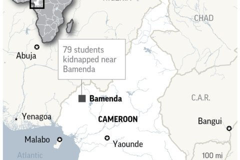 Cameroon's leader sworn in for 7th term amid rising unrest