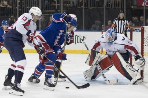 Connolly scores in 3rd, Capitals beat Rangers 5-3