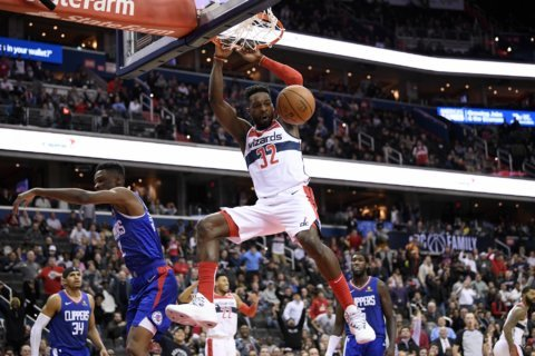 Wall, Beal, Green help Wizards rally past Clippers 125-118