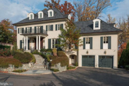 D.C.'s most expensive home is 2509 Foxhall Road in Northwest at $16 million. (Courtesy Trulia/Bright MLS)