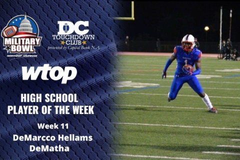 DeMarcco Hellams leads DeMatha to WCAC Finals, earns Player of the Week