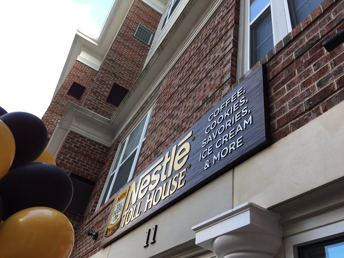 One of the owners said they also serve sweet and savory crepes at the new cafe. (WTOP/Liz Anderson)