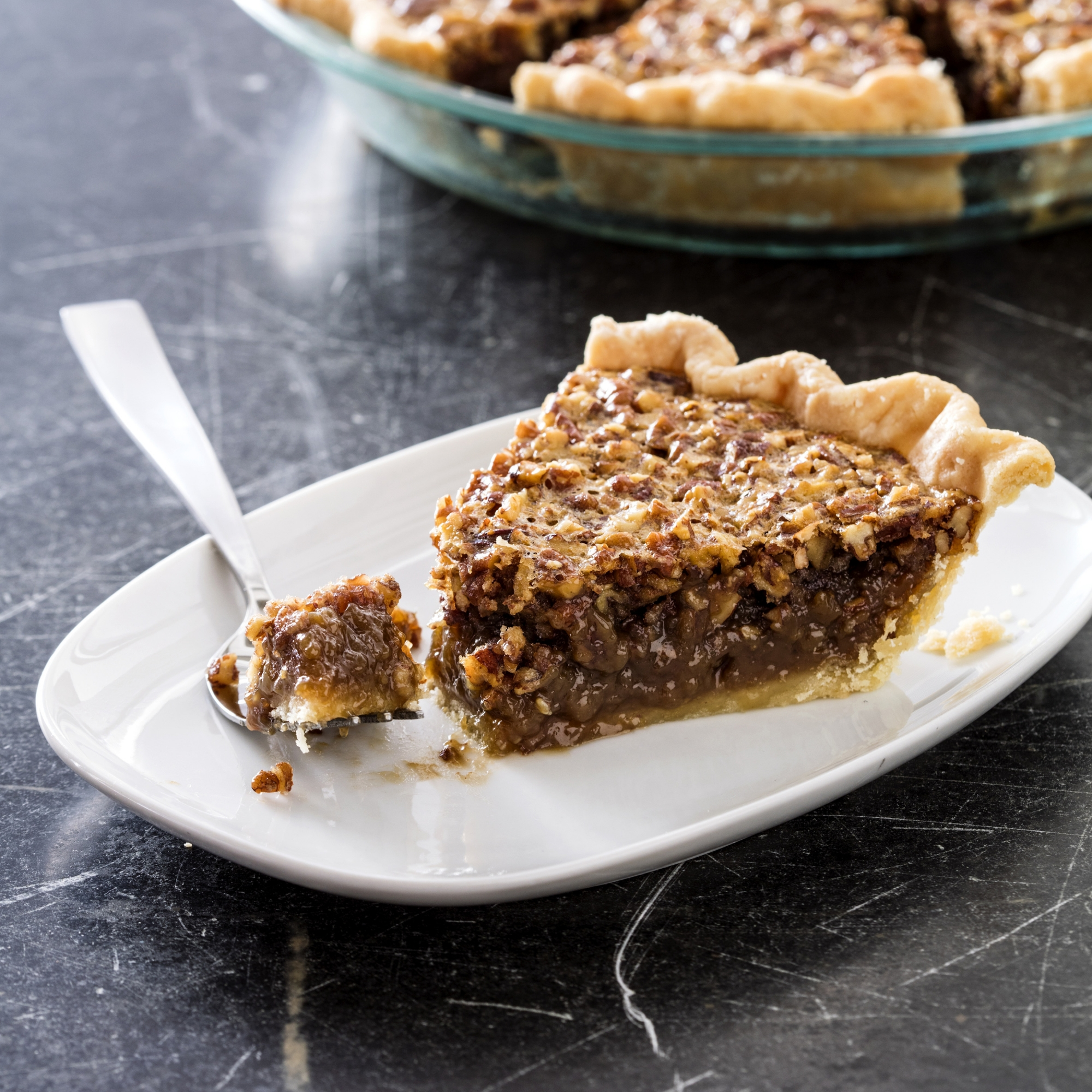 Pecan pie with a smooth-textured filling and a nice crust | WTOP